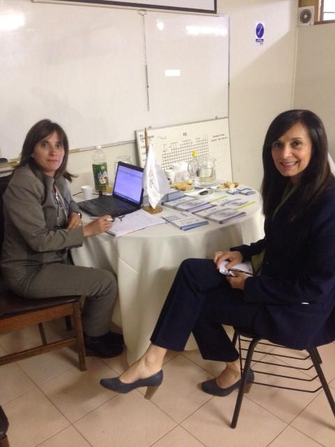 ISV cuidando la salud visual de los trabajadores de la Región.