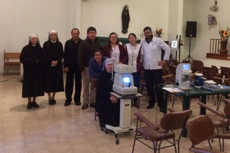 Clínica ISV realiza operativo oftalmológico en Hogar de ancianos en el marco de la Semana del Glaucoma