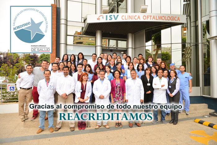 Clinica ISV Re-Acreditada