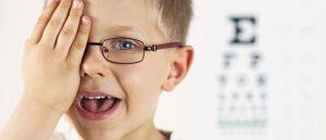 Control oftalmológico en niños
