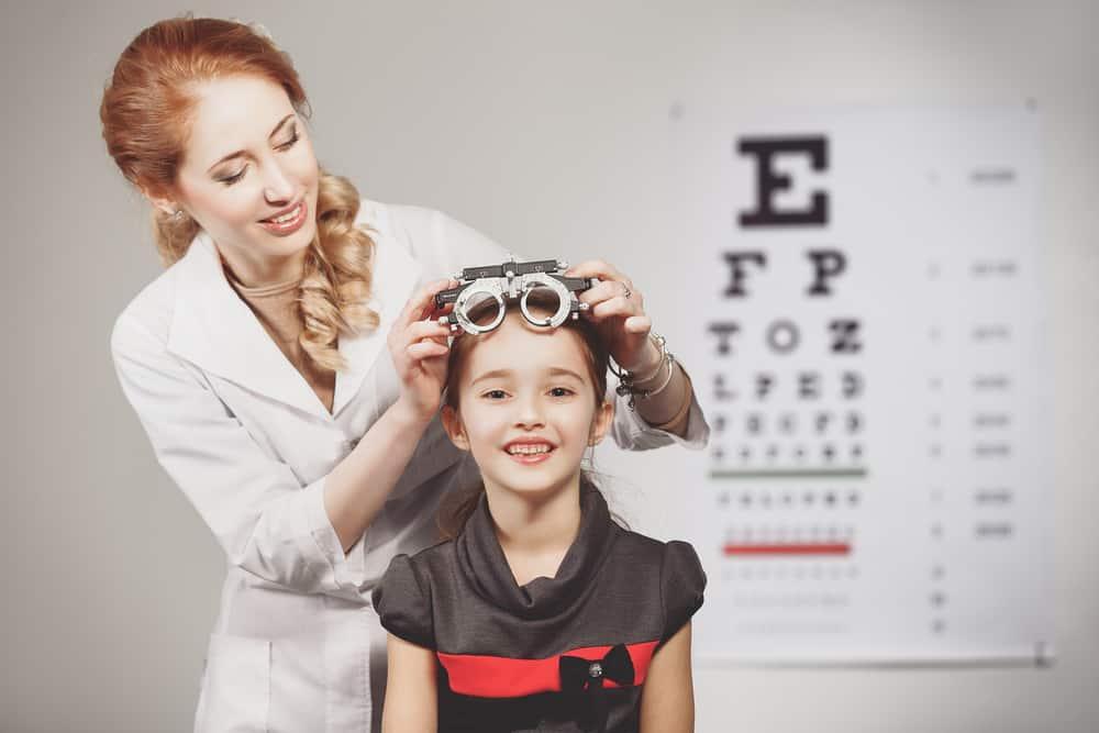 examen oftalmológico para niños