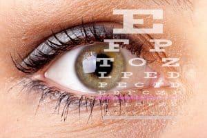 ¿Por qué se usan letras de examen de vista?