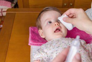 Conjuntivitis en bebés: Todo lo que deben saber los padres
